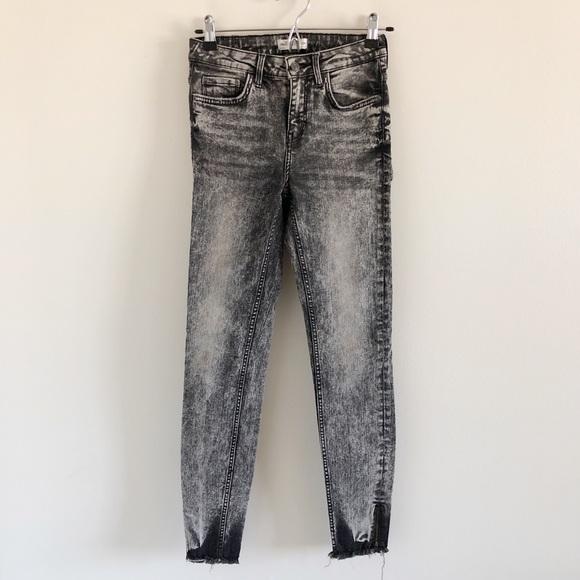7855dc11 ZARA Black Acid Wash Moto Skinny Jeans 4. M_5cb169a2abe1ce4934b494eb
